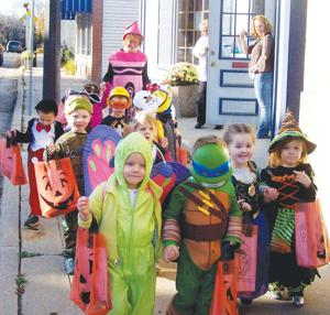 Holland's Hearts & Hands Preschool Halloween Parade