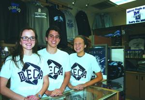 DECA, business class operate school store