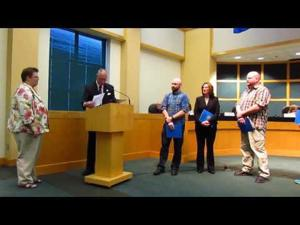City of Sun Prairie Employee Awards -- 4-18-2017