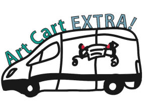 Here comes the Art Cart EXTRA!