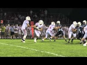 Monona Grove vs Mount Horeb.   August 22nd, 2014