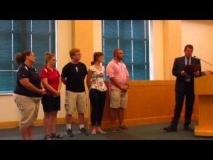 Sound of Sun Prairie gets mayoral proclamation -- 8-5-2014