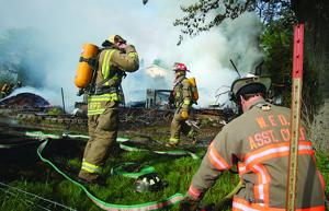 Fire destroys shed in Dane