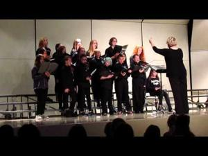 Patrick Marsh Middle School Fall Choir Concert -- Grade 7 -- 10-26-15