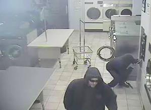 Surveillance video identifies laundromat thieves