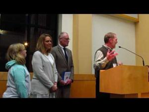 Daryl Severson honored for 35 years with City of Sun Prairie -- 12-20-2016
