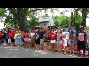 2015 Token Creek Festival -- 7-4-2015 -- Circle of Freedom