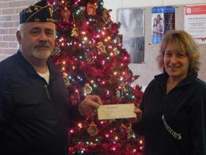 Holiday program donation