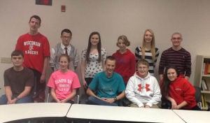 DeForest Area High School October 2013 Students of the Month