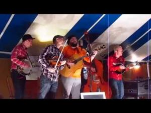Soggy Prairie Boys with Marta Hansen at Sacred Hearts Fall Fest 9-12-15