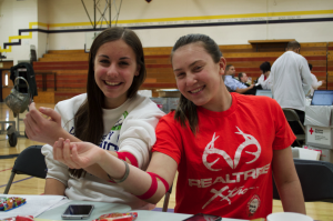 Last blood drive of the school year  at DAHS brings big numbers