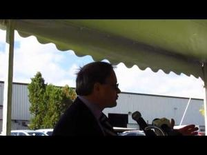 Wisconsin Lt. Gov. announces WEDC grant for Thermal Spray Technologies -- Oct. 8, 2014
