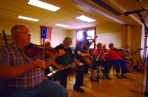 Old Time Fiddlers at Senior Center