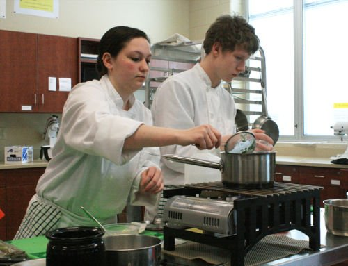 SPHS students prepare for culinary competition