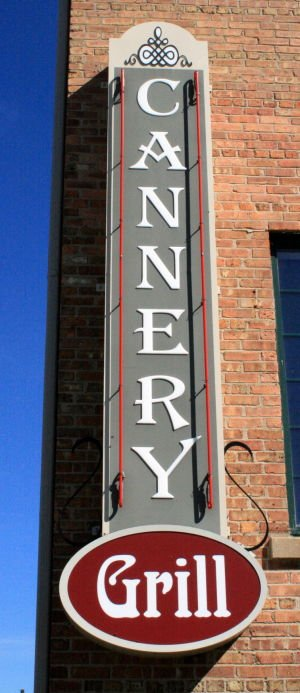 Cannery Grill sign