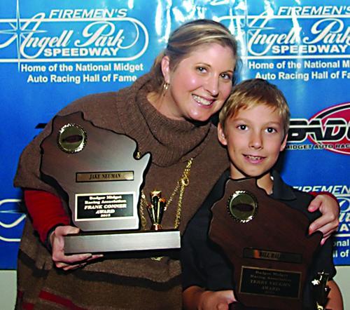 Midget racing family picks up awards