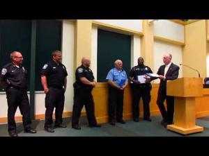 City of Sun Prairie Employee Awards -- 9-20-2016