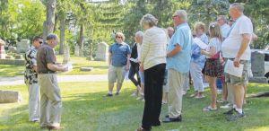 Graveside ceremony