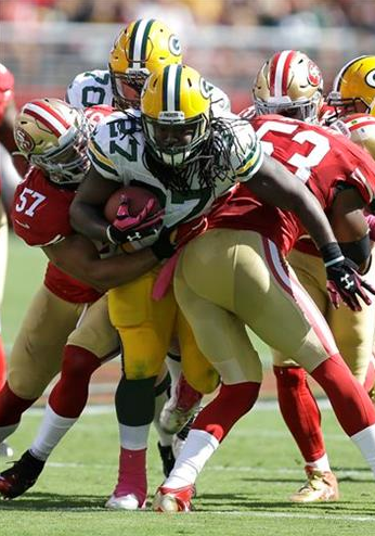 Rodgers leads unbeaten Packers past 49ers