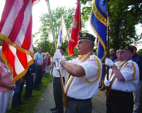 Legion at Patriotic concert