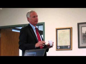 U.S. Senator Ron Johnson at Bristol Town Hall 5-28-2014 -- 2 of 3