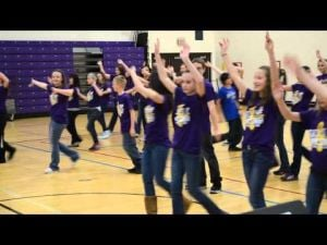 DeForest Area Middle School Show Choir performance for April 11 Grandparents Lunch