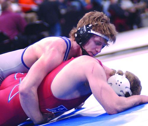 Trevor Statz is state runner-up at 182 pounds