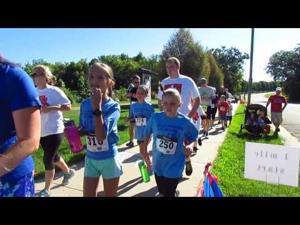 2016 Book'n It Run -- 8-6-2016 -- Start of the 1 Mile Run