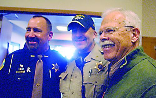 Deputy sheriff Balistreri retires