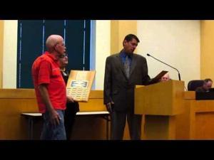 Sun Prairie City Council meeting -- 9-2-2014 -- Reininger Award