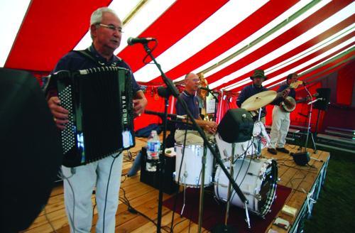 The Bob Klinger Band at Wauktoberfest