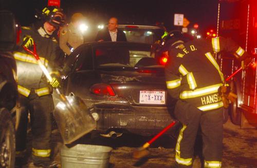 Crash at 19 and Hogan brings EMS and Fire