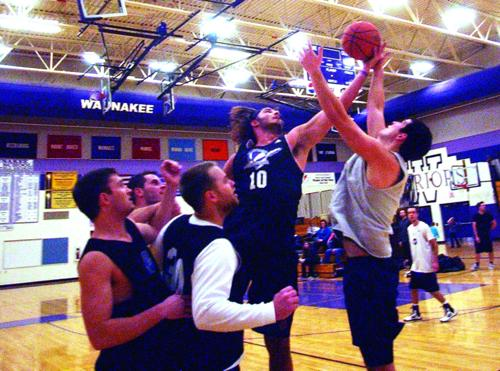 Ten teams featured at alumni basketball