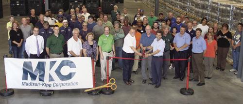 MKC cuts ribbon at 90,000 square foot expansion