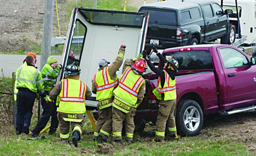 Dane Fire responds to crash in Town of Dane
