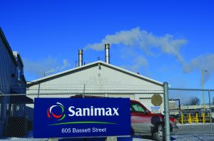 Sanimax slaps village with lawsuit notice