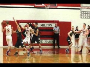 Boys basketball: Madison Edgewood @ Milton