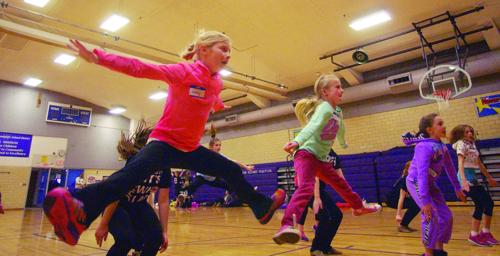 Dance hosts clinic for kids