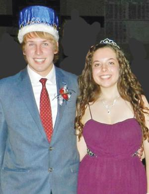 CHS 2014 Homecoming King and Queen