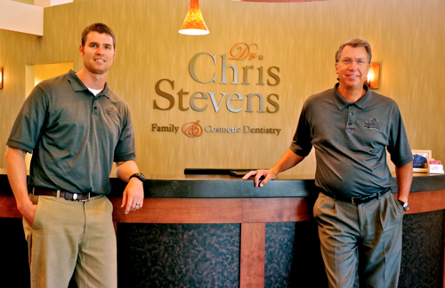 Chris Stevens welcomes son to Sun Prairie dental practice
