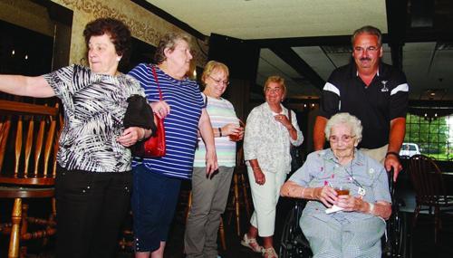 Ballweg celebrates 101 birthday at Rex's