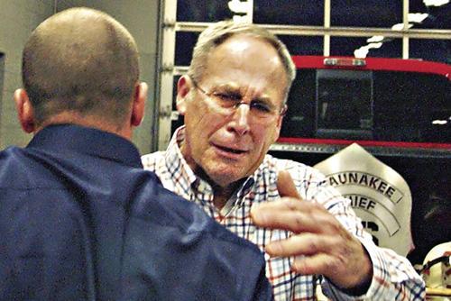 Waunakee Fire honors Gary Acker