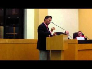 Sun Prairie City Council Sept. 16, 2014 -- Murray admits to financial involvement