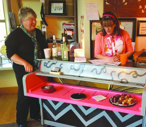 Bill saves Sun Prairie BID's Wine Walk event