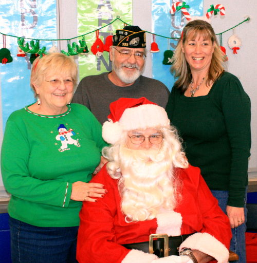 Children's Christmas Party scheduled for December 13 at C.H. Bird School