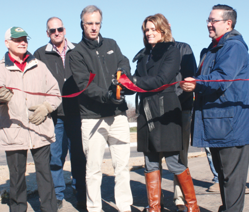 Ceremony officially opens Highway C