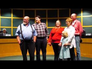 Newly elected Sun Prairie alders, mayor sworn in -- 4-18-2017