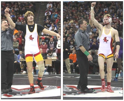 For first time, Sun Prairie has two state wrestling champs in same state meet