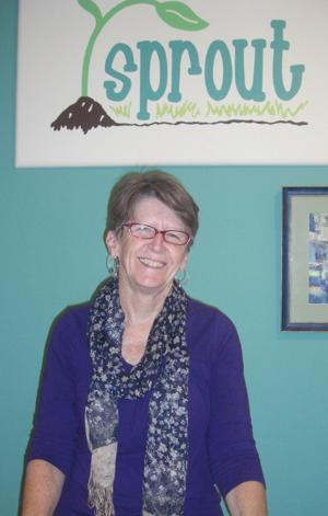 Sprout owner Linda Rains