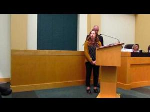 Sun Prairie meets Madeline Shovers at 10-18-16 Council Meeting